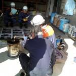 消防士の訓練